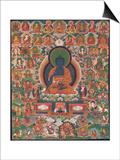 "Bhaisajyaguru (Buddha ""maître des remèdes"") Posters"