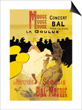 Moulin Rouge Concerts Art by Henri de Toulouse-Lautrec