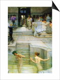 A Favorite Tradition Art by Sir Lawrence Alma-Tadema