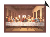 The Last Supper Posters by  Michaelangelo