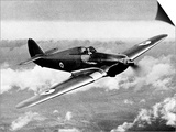 British RAF Hawker Hurricane Poster