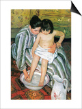 The Bath Prints by Mary Cassatt