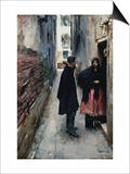 A Street in Venice Prints by John Singer Sargent