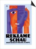 Reklame Schau Print by Fritz Rosen