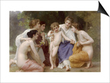 Admiration Prints by William Adolphe Bouguereau