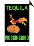 Tequila Mockingbird Art by Jason Pierce