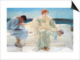 Ask Me No More Prints by Sir Lawrence Alma-Tadema