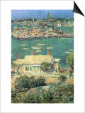 Port of Gloucester Posters by Childe Hassam
