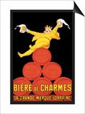 Biere de Charmes Affischer av Jean D' Ylen