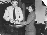 Rosa Parks Indicted 1956 Prints by  Associated Press