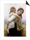 Not Too Much to Carry Posters by William Adolphe Bouguereau