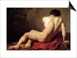 Patroclus Print by Jacques-Louis David