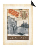 Destination Venice Poster by Tina Chaden