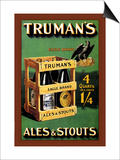 Truman's Ales and Stouts Posters by Frances Smith