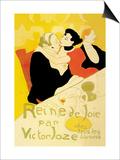 Reine de Joie Lámina por Henri de Toulouse-Lautrec