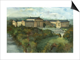 Phila Art Museum Print by Noel Miles