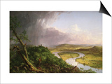 The Oxbow. Holyoke, Massachusetts Art by Thomas Cole