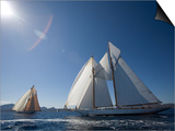 Panerai Classics, Sardinia, September 2007 Art by Richard Langdon