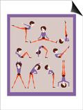 Workout Posters by  yemelianova