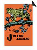 J is for Jaguar Prints by Charles Buckles Falls