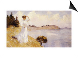 Eleanor on the Hilltop, 1912 Poster by Frank Weston Benson