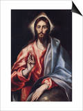 Christ the Saviour Posters by  El Greco