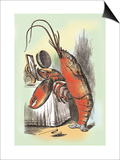 Through the Looking Glass: The Lobster Quadrille Posters by John Tenniel