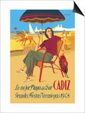 Cadiz, La Mejor Playa del Sur Posters