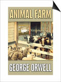Animal Farm Poster by George Orwell