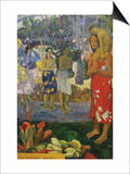 La Orana Maria (Hail Mary) Poster by Paul Gauguin