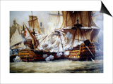 Battle of Trafalgar Prints by Louis Philippe Crepin