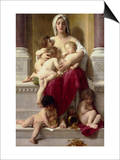 Charity Poster by William Adolphe Bouguereau