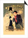 Mothu et Doria: Scenes Impressionnistes Prints by Théophile Alexandre Steinlen