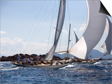 Havsornen Sailing at the Panerai Classics, Sardinia, September 2007 Posters by Richard Langdon