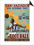Il Campeonato De Foot-Ball Prints by  Artes Graficas