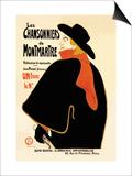 Les Chansonniers de Montmartre Arte por Henri de Toulouse-Lautrec