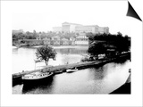 Dock on the River by the Art Museum, Philadelphia, Pennsylvania Posters