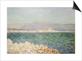 Golfe d'Antibes, 1888 Prints by Claude Monet