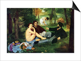 Luncheon On The Grass Posters by Édouard Manet