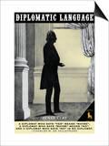 Diplomatic Language Prints by Wilbur Pierce