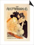 The Ault and Wiborg Company Pósters por Henri de Toulouse-Lautrec