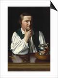 Portrait of Paul Revere Prints by John Singleton Copley