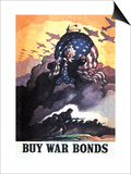 Buy War Bonds Prints by Newell Convers Wyeth