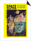 Space Science Fiction, February 1853 Prints