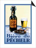 Biere du Pecheur Print