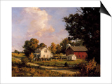 Family Farm Prints by John Pototschnik