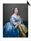 Princes De Broglie Art by Jean-Auguste-Dominique Ingres