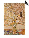 L'Arbre de vie, frise II Affiches par Gustav Klimt