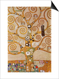 Frieze II Art by Gustav Klimt