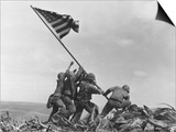 Iwo Jima Flag Raising Prints by Joe Rosenthal